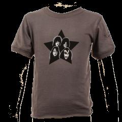 Kiss Baby Rock T-shirt eco Vintage Black – organic cotton