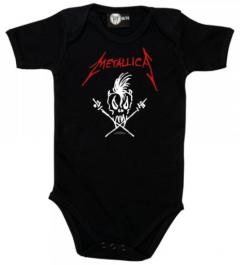 Metallica Onesie Baby Scary Guy