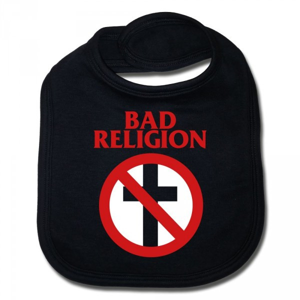 Bad Religion baby haklappar Cross Cotton