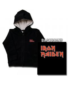 Iron Maiden barn Luvtröjor Zip Logo (print on demand)