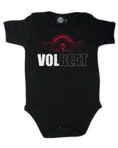 Volbeat body Baby Rocker metal Skullwing