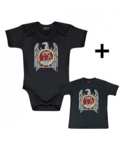 Gåvoset Slayer body Baby Silver Eagle & Baby T-shirt