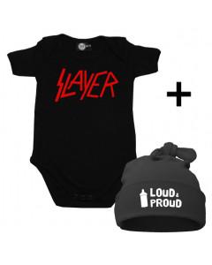 Baby Gåvoset Slayer body Baby/baby & Loud & Proud Hat