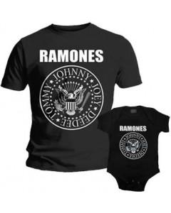 Ramones pappor's T-shirt & Ramones body Baby Rocker