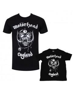 Duo Rockset Motörhead pappor's T-shirt & barn T-shirt