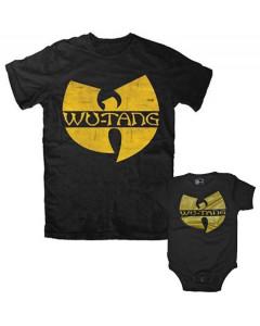 Duo Rockset Wu-Tang Clan pappor's T-shirt & Wu-Tang Clan body Baby