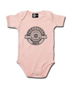 Foo Fighters body Baby Rocker Logo rosa – metal bodys