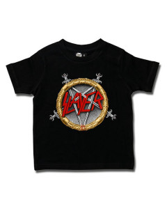 Slayer barn/smabarn T-shirt - Pentagram Metal-barn