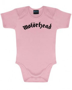 Motörhead body Baby Rocker Logo rosa – metal bodys