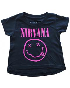 Nirvana Baby T-Shirt Smiley Pink