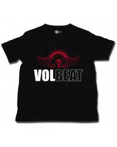 Volbeat barn/smabarn T-shirt - t-shirt Skullwing